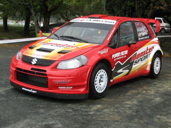 Rally Racing Suzuki Sx4 My Favorite Sports Pinterest Racing