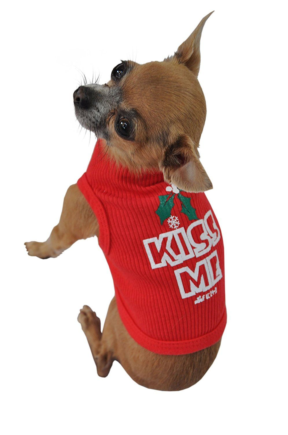 Doggie Tank Top, Kiss Me, Red ** Insider's special review