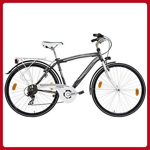 Lombardo Siena 100M Commuting Bike, 700c Wheels, 19 inch Frame, Men's Bike, Antracite, 99% Assembled - Useful things for bikers (*Amazon Partner-Link)