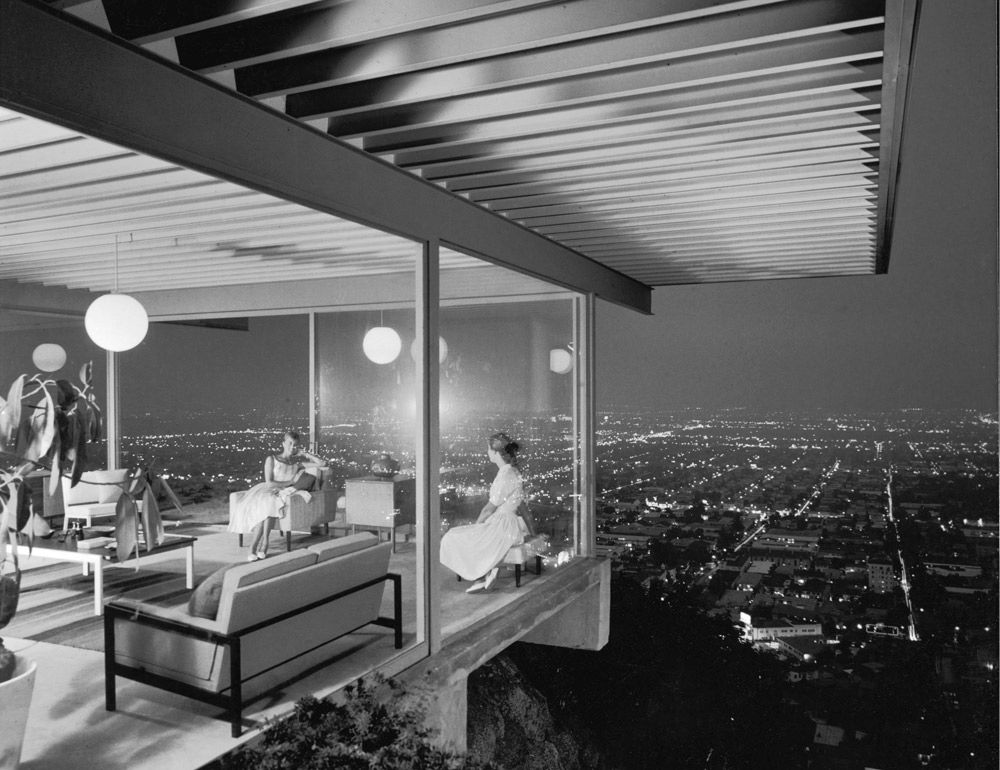 Case Study      The Stahl House   Los Angeles  California    Architect  Pierre