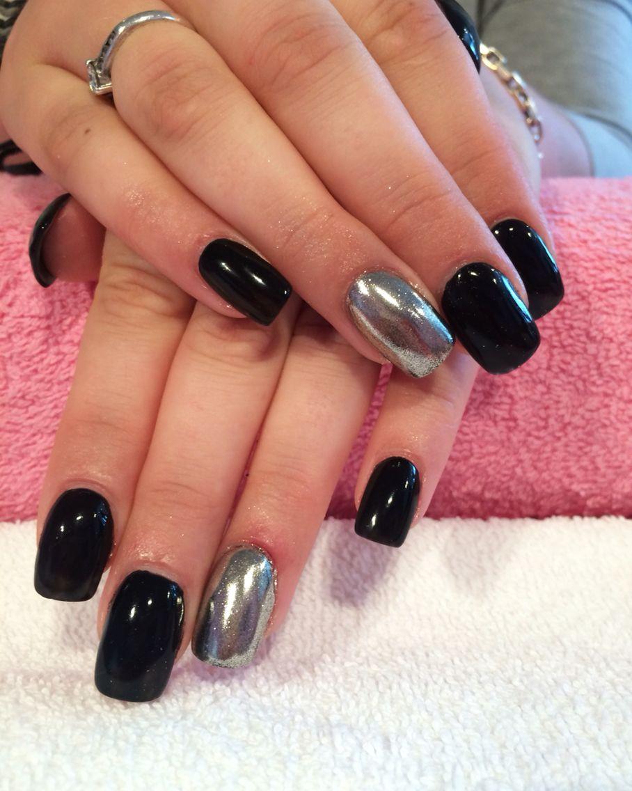 Chrome Nails Done At California Nails Californianails Nails