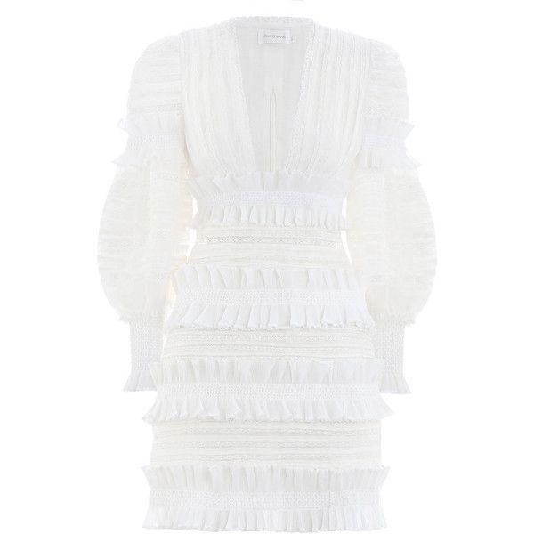 4c639a61661 ZIMMERMANN Radiate Smocked Mini Dress ( 1