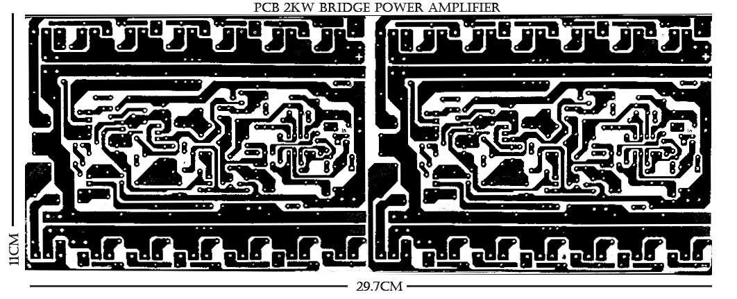 DIY 2000W High Power Amplifier 2SC5200 2SA1943 | Kit power