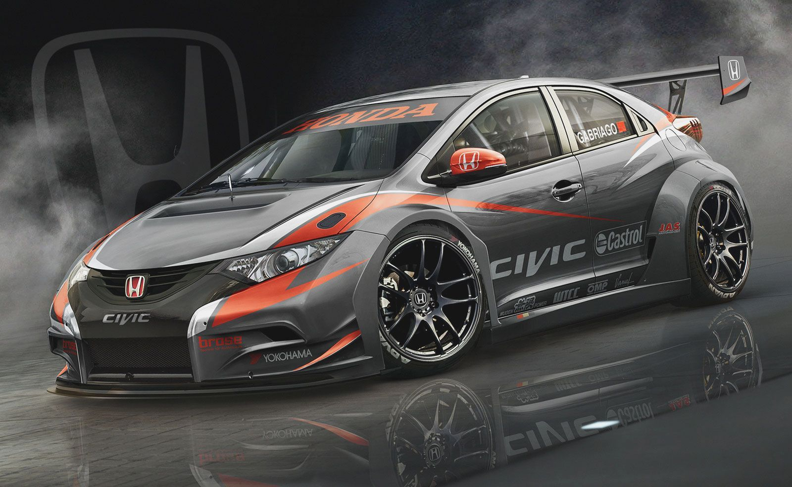 High Quality Honda Civic Type R Sport Cars Wallpapers