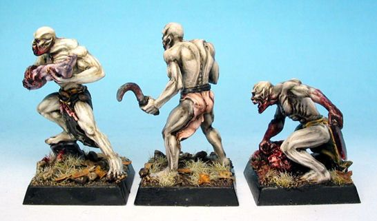 Ghouls Pack 2: Running/Crawling Ghouls (x3)