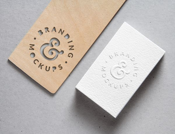 New free photoshop psd mockups for designers 26 mockups graphic cutout wood embossed business card mockup in psd design perfect to showcase an original and stylish branding identity project flashek Gallery