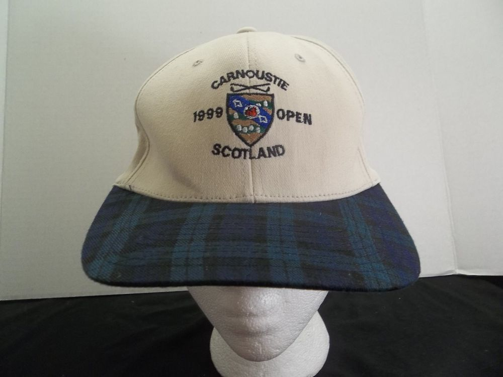 d43246c6e5e Carnoustie Scotland 1999 Open Golf Hat Flex Band For OSFM  Carnoustie   golfhat