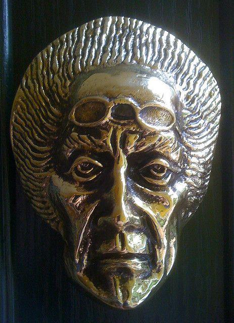 Jacob Marley Door Knocker... Heaton Moor Stockport England GB & Jacob Marley Door Knocker | Jacob marley Doors and Architecture