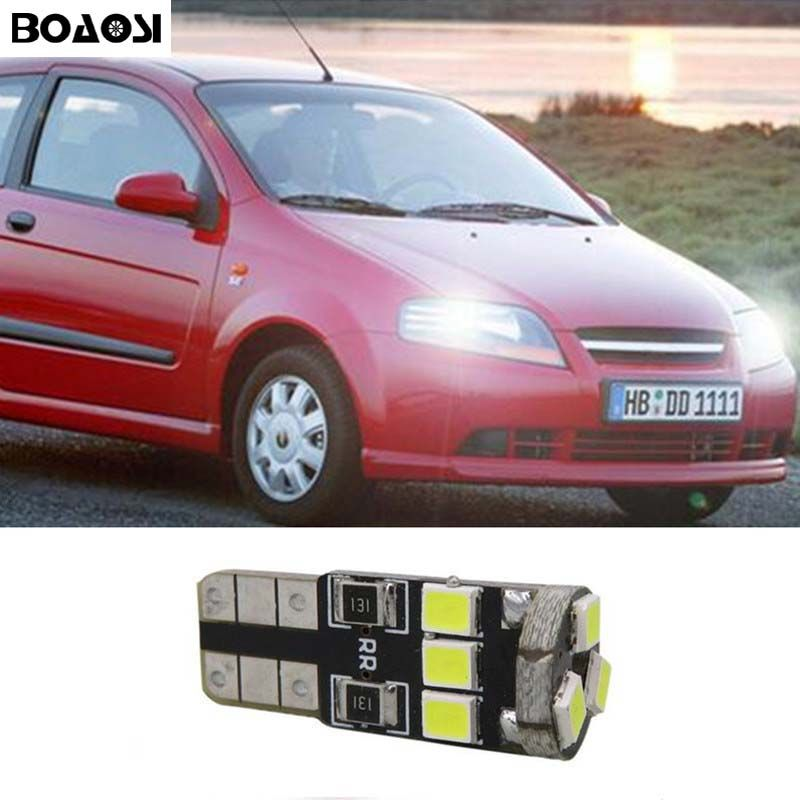 Boaosi 1x T10 Led W5w Car Led Auto Lamp Light Bulbs For Chevrolet