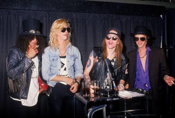 Guns N' Roses, late '80s
