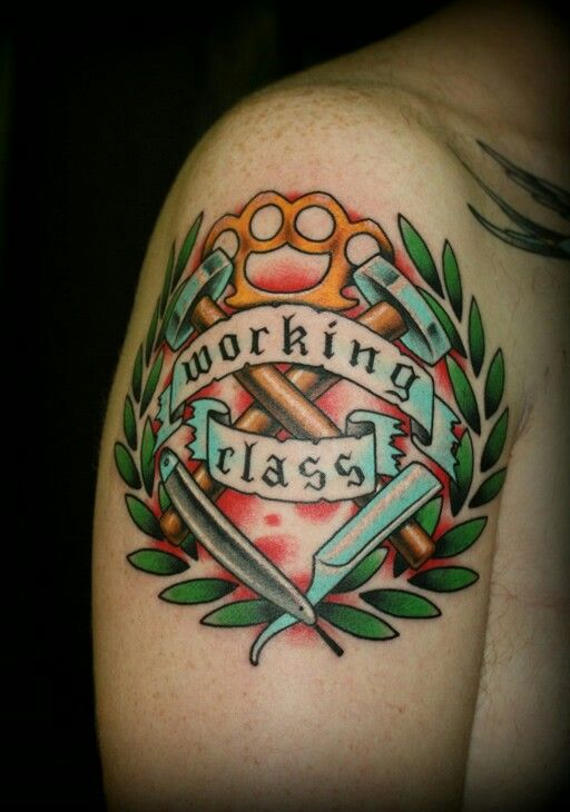 Working Class Traditional Tattoo
