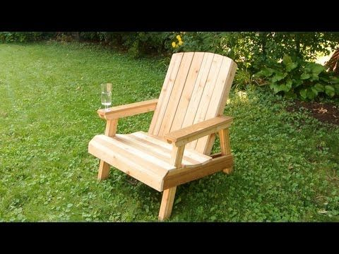 How To Make Garden Chair From Palllets Youtube Lawn Chairs