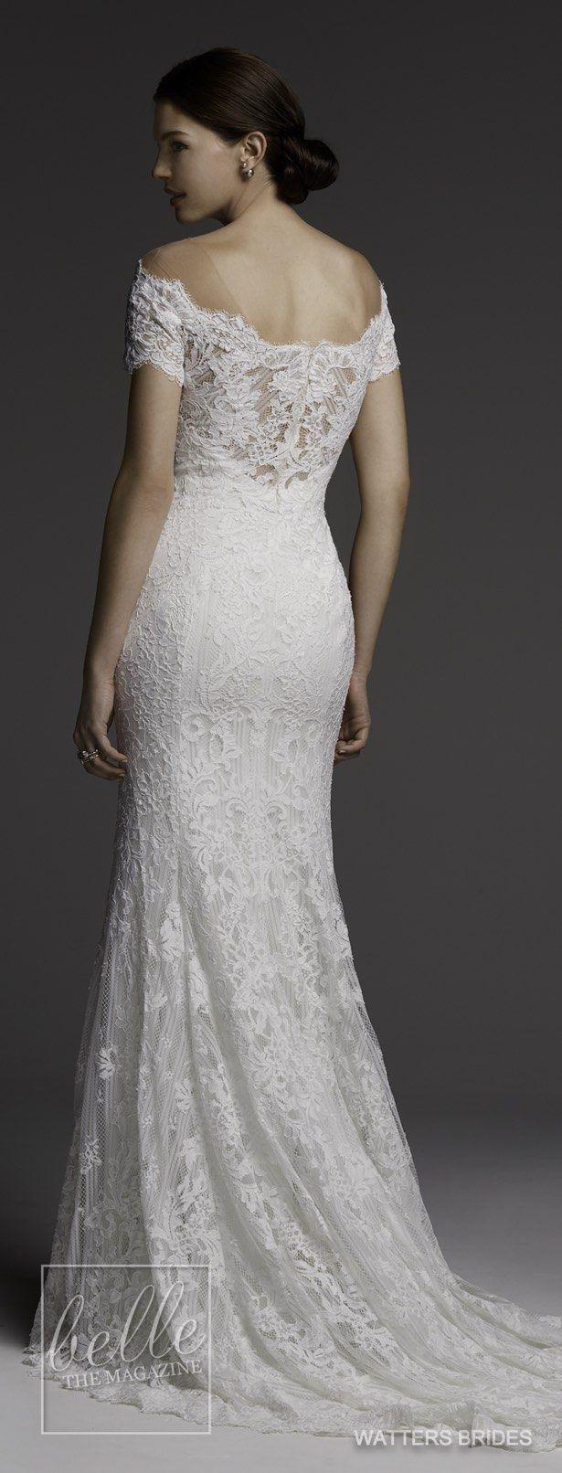 Wedding dresses by watters brides spring preferidos