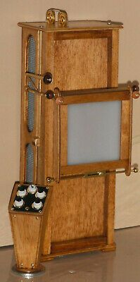 Dollhouse miniature handcrafted Medical Hospital X ray machine antiqued 1/12th | eBay