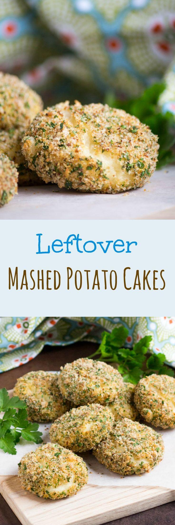 Leftover Mashed Potato Cakes ,  #Appetizers #cakes #Drink #Food #Fruits #leftover #Mashed #MealPlan #MealPlanning #Meat #Planning #Potato #Snacks