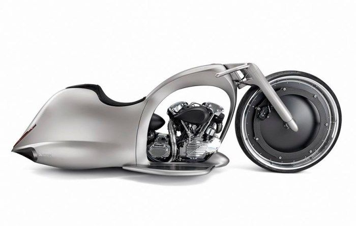 Get Ready For A Lunar Ride With Akrapovič's Full Moon Motorcycle
