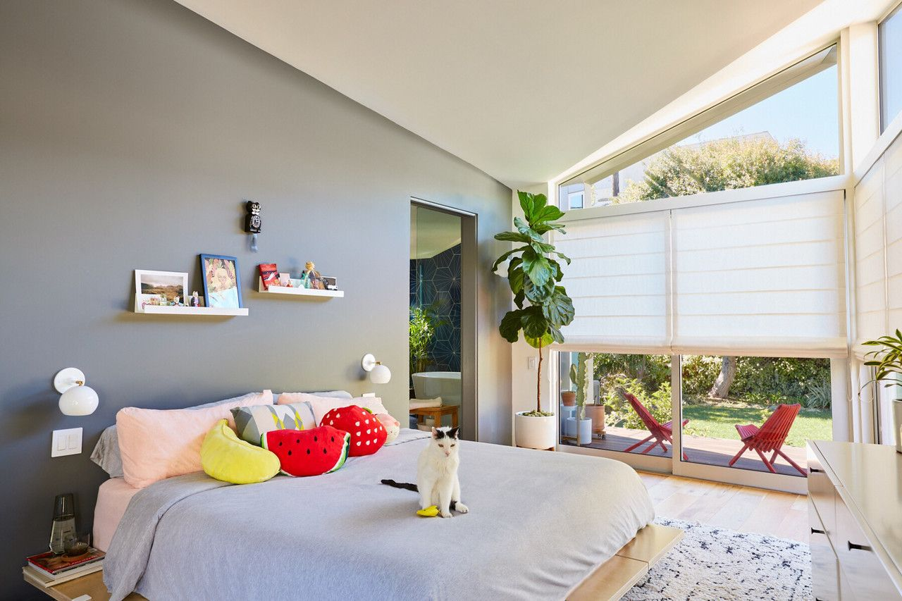 Home Interior Design — My bright and cozy bedroom in Los ...
