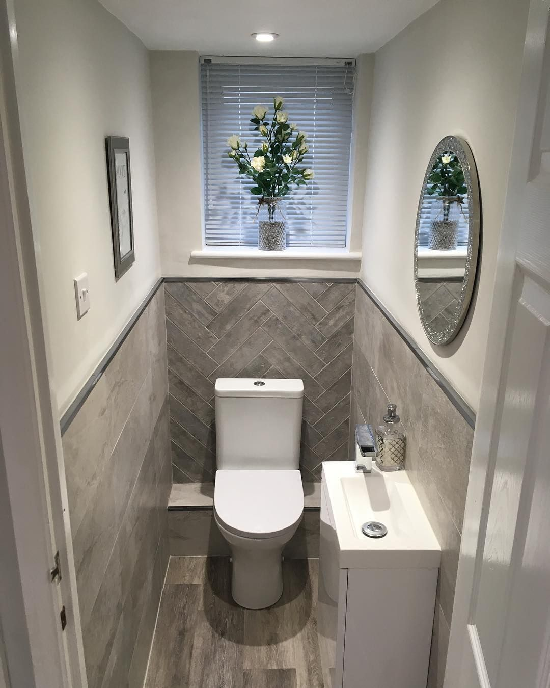 The House Is So Clean Tidy Without The Kids But I Can T Wait To Go And Pick Them Up In A Little W Toilet Room Decor Small Toilet Room Small
