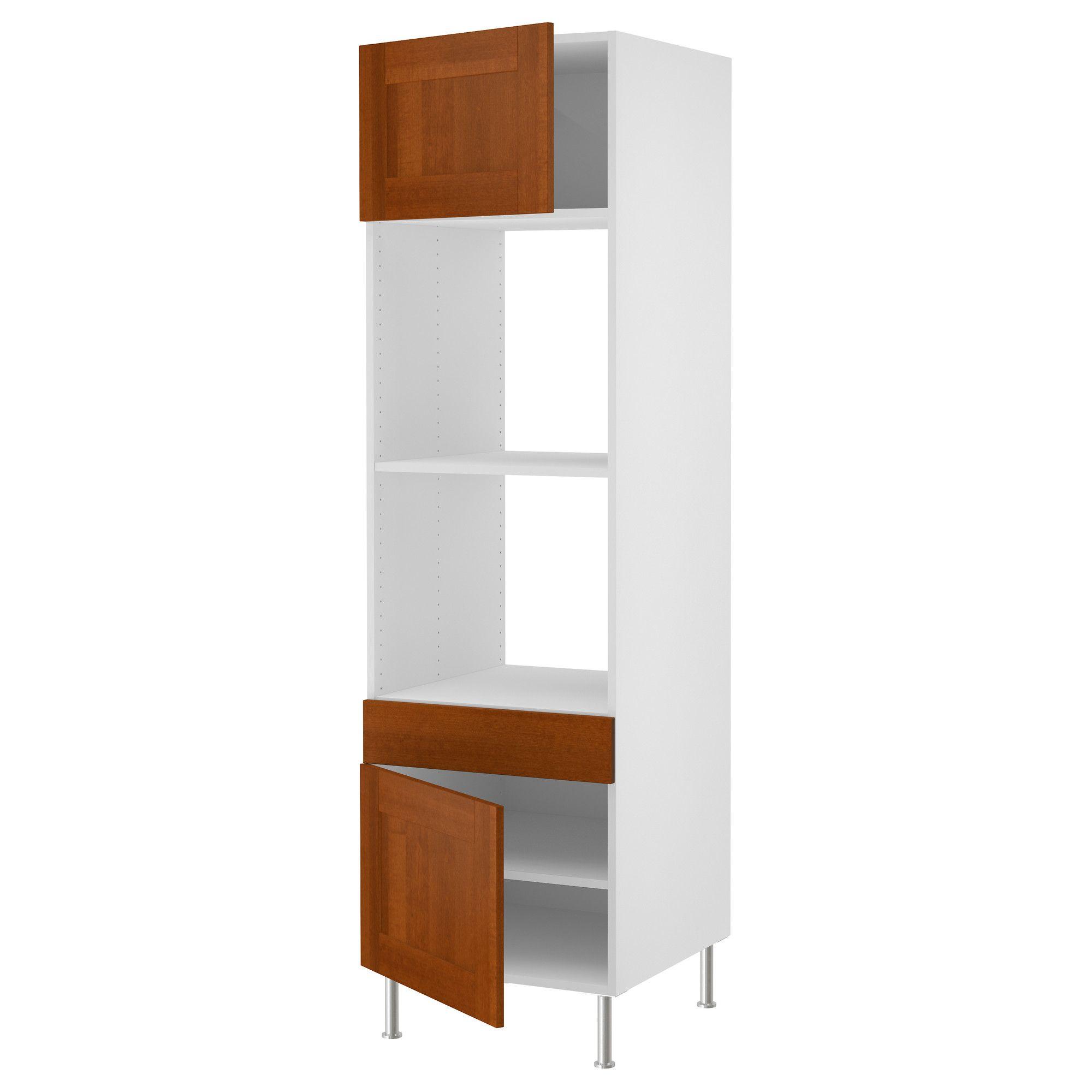 AKURUM High cabinet f built-in oven/micro - birch effect Ädel medium  sc 1 st  Pinterest & AKURUM High cabinet f built-in oven/micro - birch effect Ädel ...