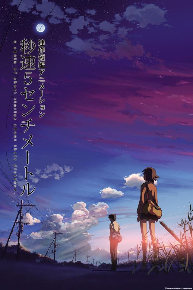 Crunchyroll 5 Centimeters Per Second Full Episodes Streaming