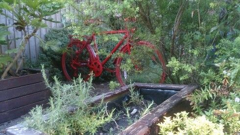 My Dadu0027s Old Bicycle Will Make A Nice Garden Ornament