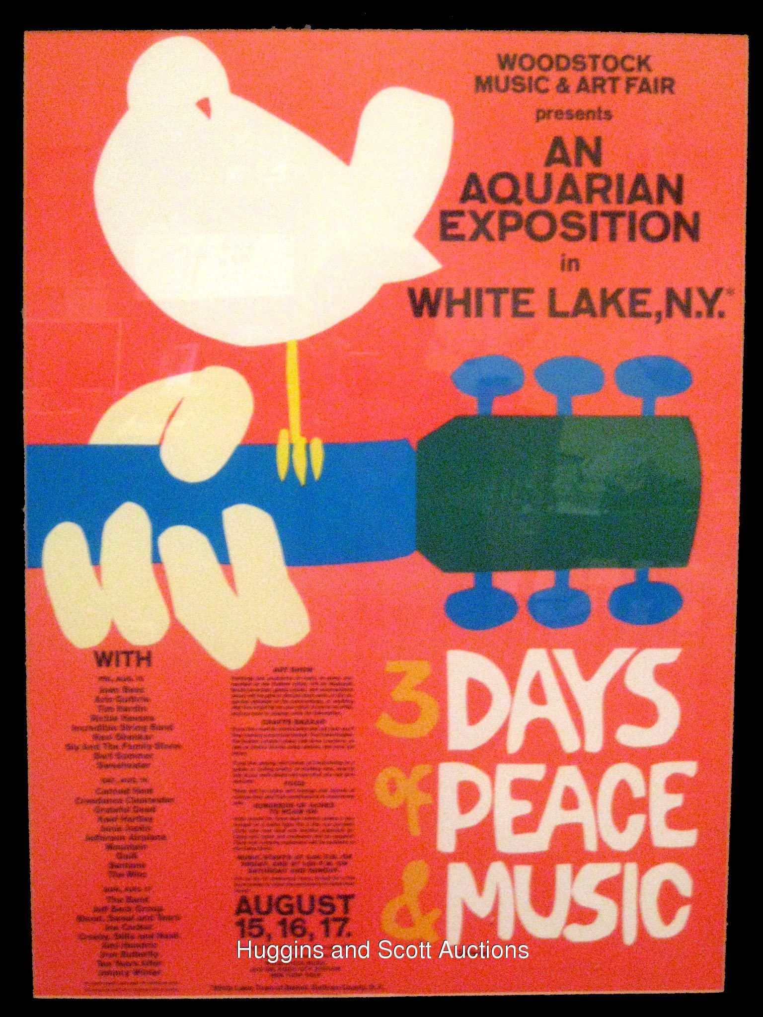 Woodstock Poster Music Poster Pinterest Woodstock And Poster