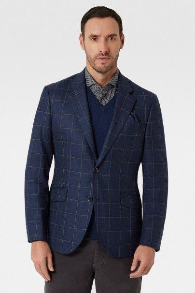 Double Windowpane Check Jacket - SAKKOS & BLAZER - Einkaufen nach Artikel - HERREN | Hackett