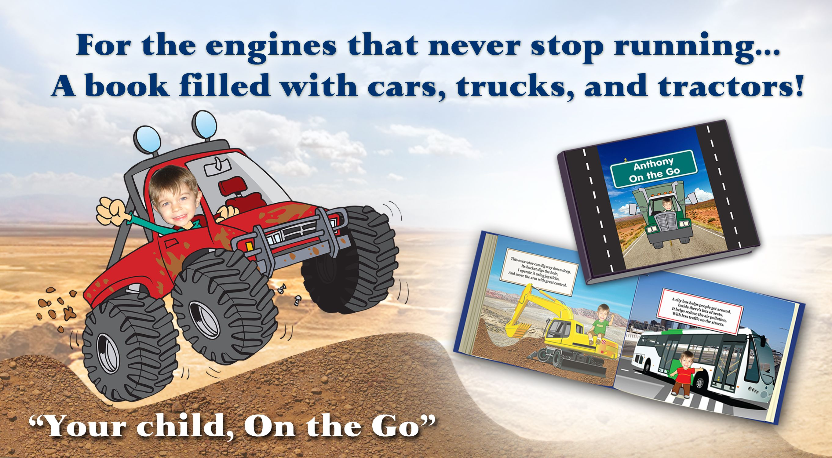 personalized gifts for boys custom books with trucks tractors and more!  sc 1 st  Pinterest & personalized gifts for boys custom books with trucks tractors and ...