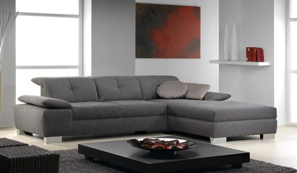 Marvelous IL Decor Furniture: Abalus Fabric Sectional Sofa By ROM, Belgium