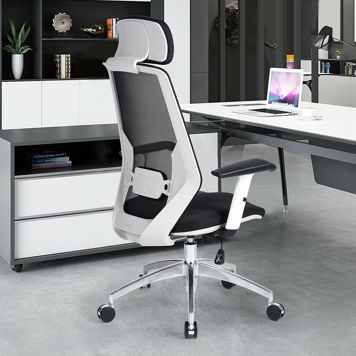 Ergonomic Task Chair Swivel High Back Herman Miller Aeron