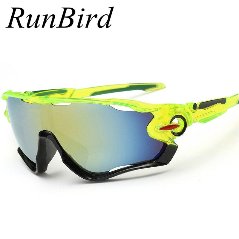 4a6d0049630 RunBird Sport Sunglasses Brand Designer Man s Fishing Sun Glasses Vintage  Style Goggles High Quality Outdoor Sunglasses 239R