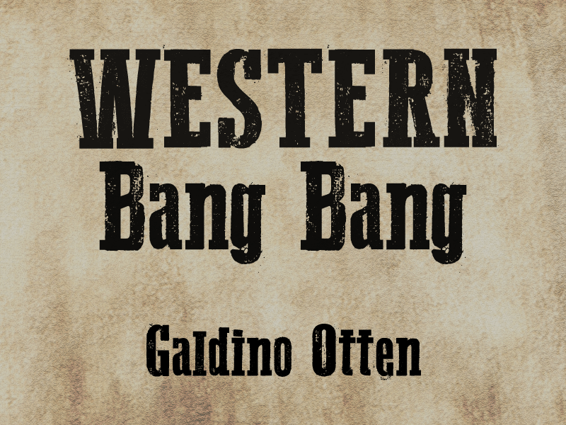 Western Bang Bang free font: stamp distressed with serifs | Sweet ...