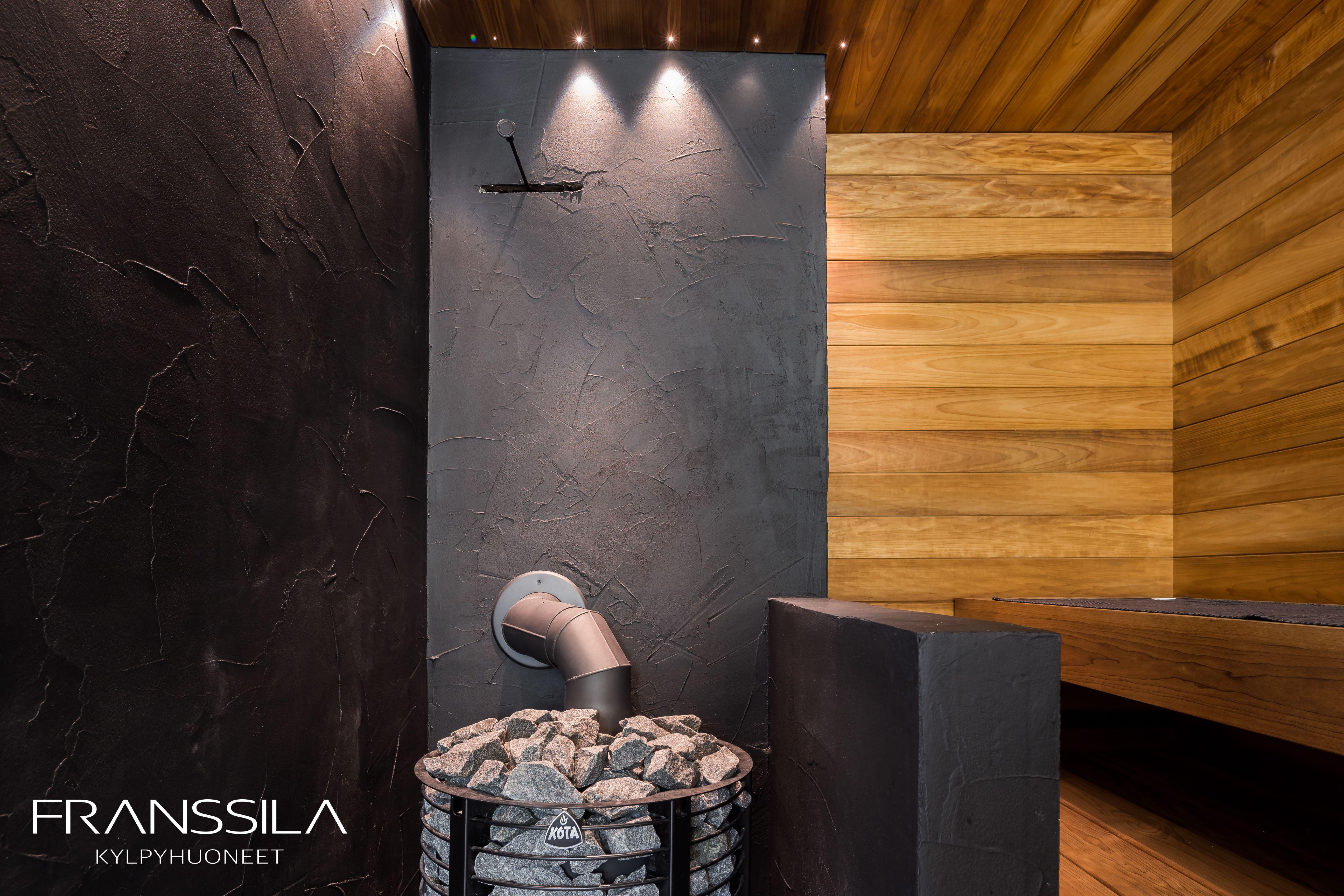 kylpyhuone- ja sauna