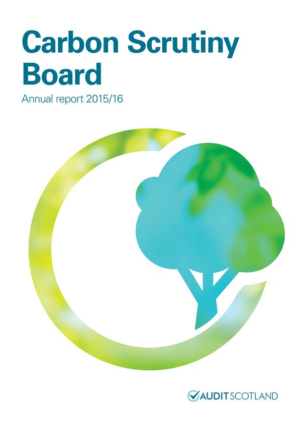 Report Cover Carbon Scrutiny Board Annual Report   Annual