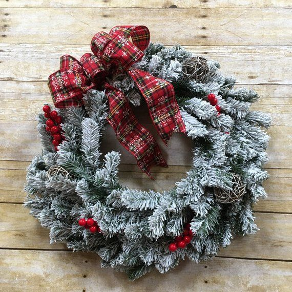 competitive price c334a 3397c Christmas Wreath, Christmas Wreath Front Door, Winter Wreath ...