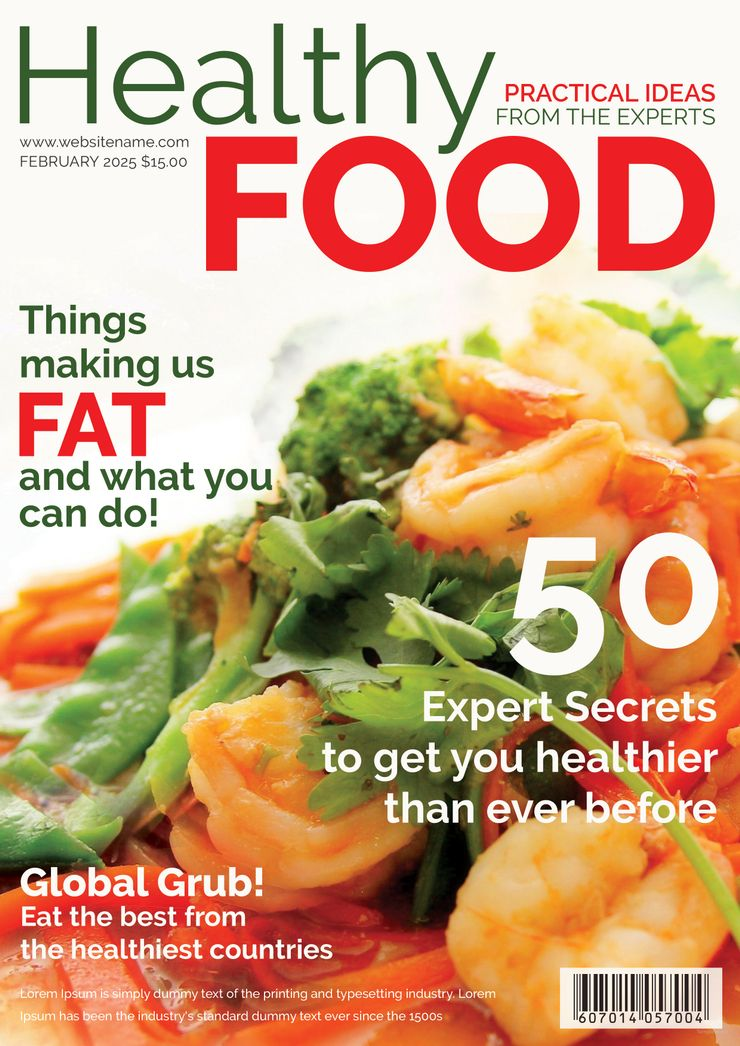 Free healthy food magazine cover food magazines cover