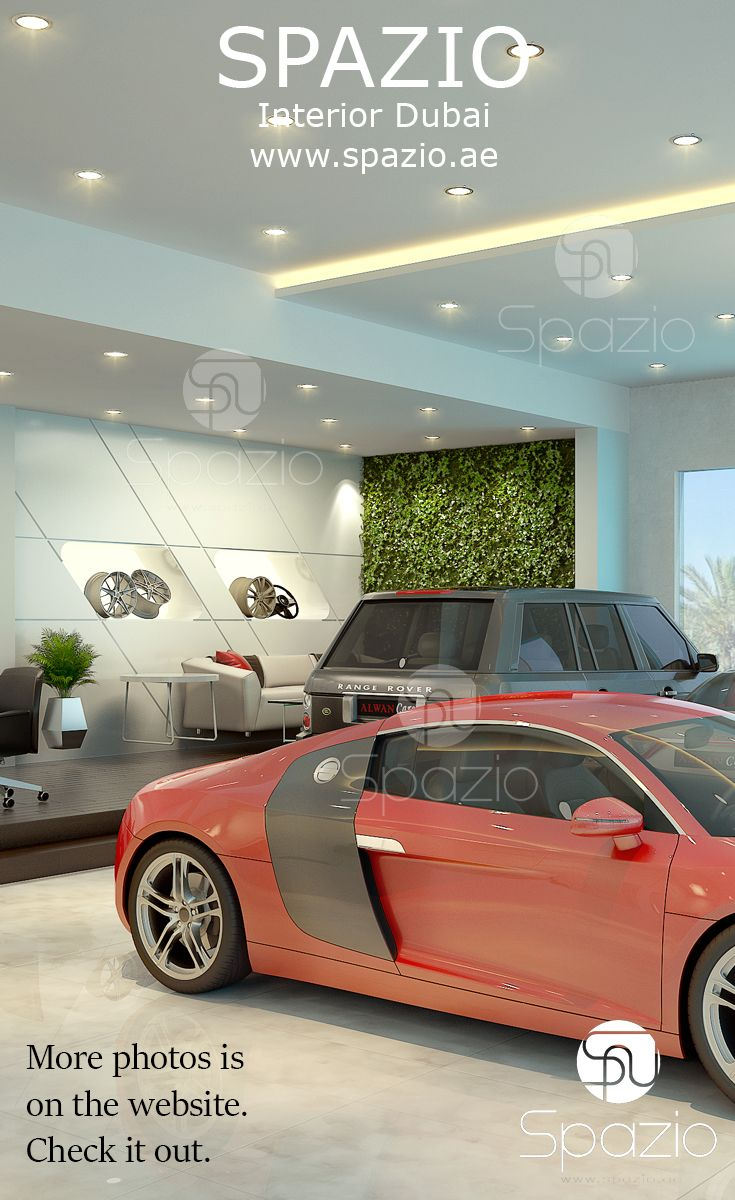 Car Showroom Interior Design Dubai Interior Decoration Showroom