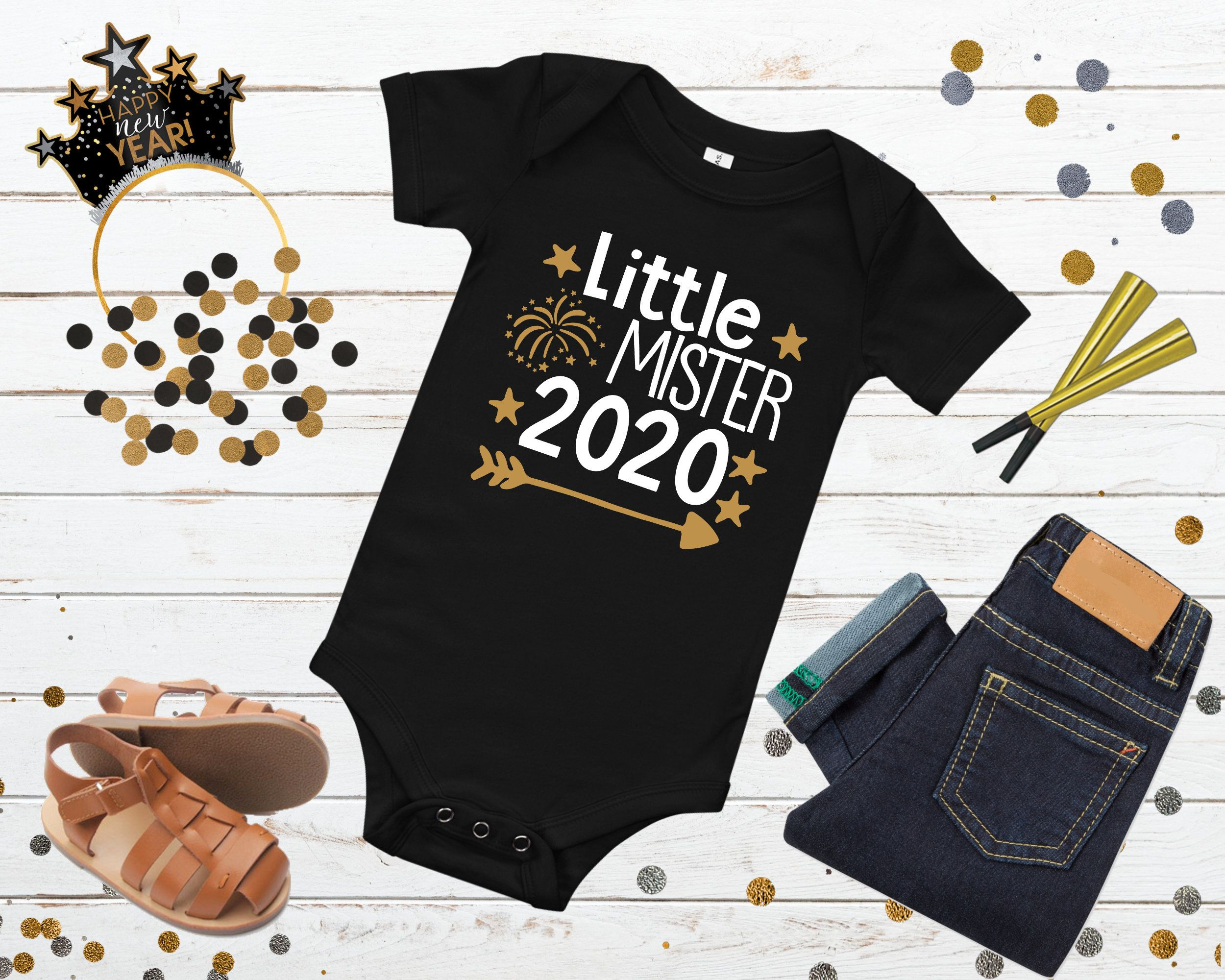 Daddy Little Pud T Shirt Vest Pudding New Dad Christmas Party Baby Grow Gift