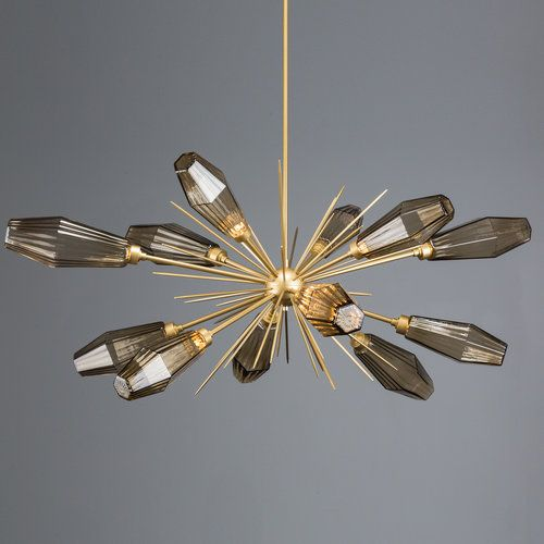 Mid Century Inspired Blown Glass Design In An Elegant Series Of