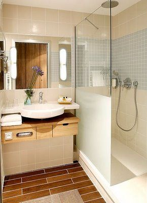 Consejos para decorar ba os peque os shower screen bath - Ideas para decorar banos pequenos ...
