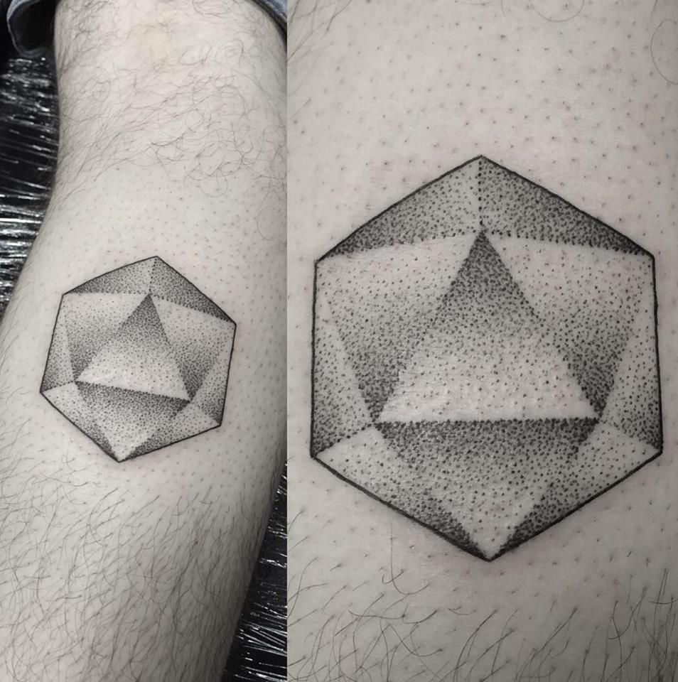 icosahedron tattoo by adam smith northside tattooz whitley bay est 1990 tattoo ideas. Black Bedroom Furniture Sets. Home Design Ideas