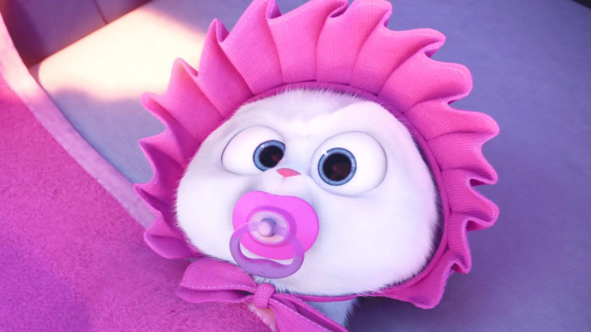 The Secret Life Of Pets Featurette Meet Snowball 2016 Animated Comedy Movie Hd Gambar Kelinci Hewan Kartun