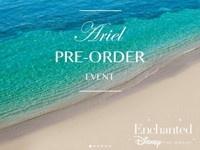 Enchanted Jewelry's Ariel Collection roll-out at D23 Expo 2017