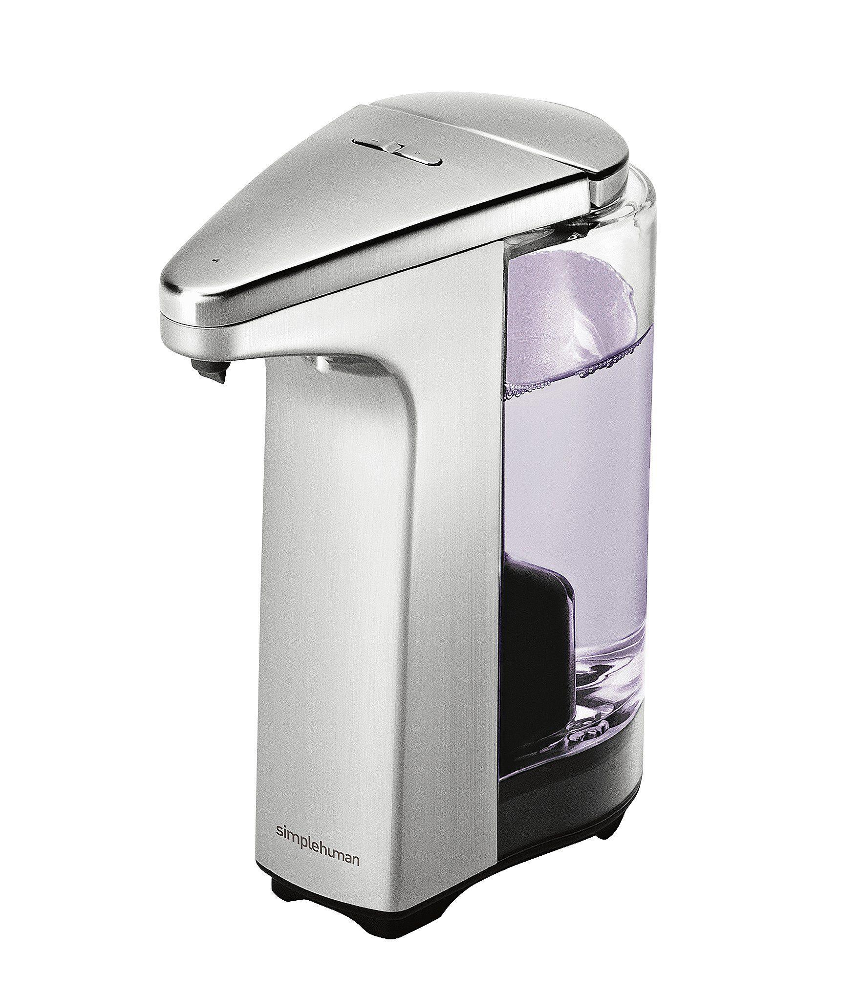 Simplehuman Compact Sensor Soap Pump In 2020 Soap Pump Soap Metal