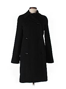 Practically New Size 10 French Connection Wool Coat for Women