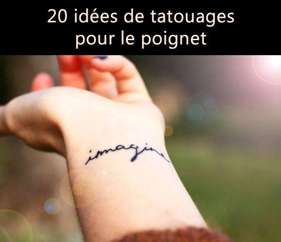 20 id es de tatouages pour le poignet rep r s sur instagram et pinterest - Idee tatouage poignet ...