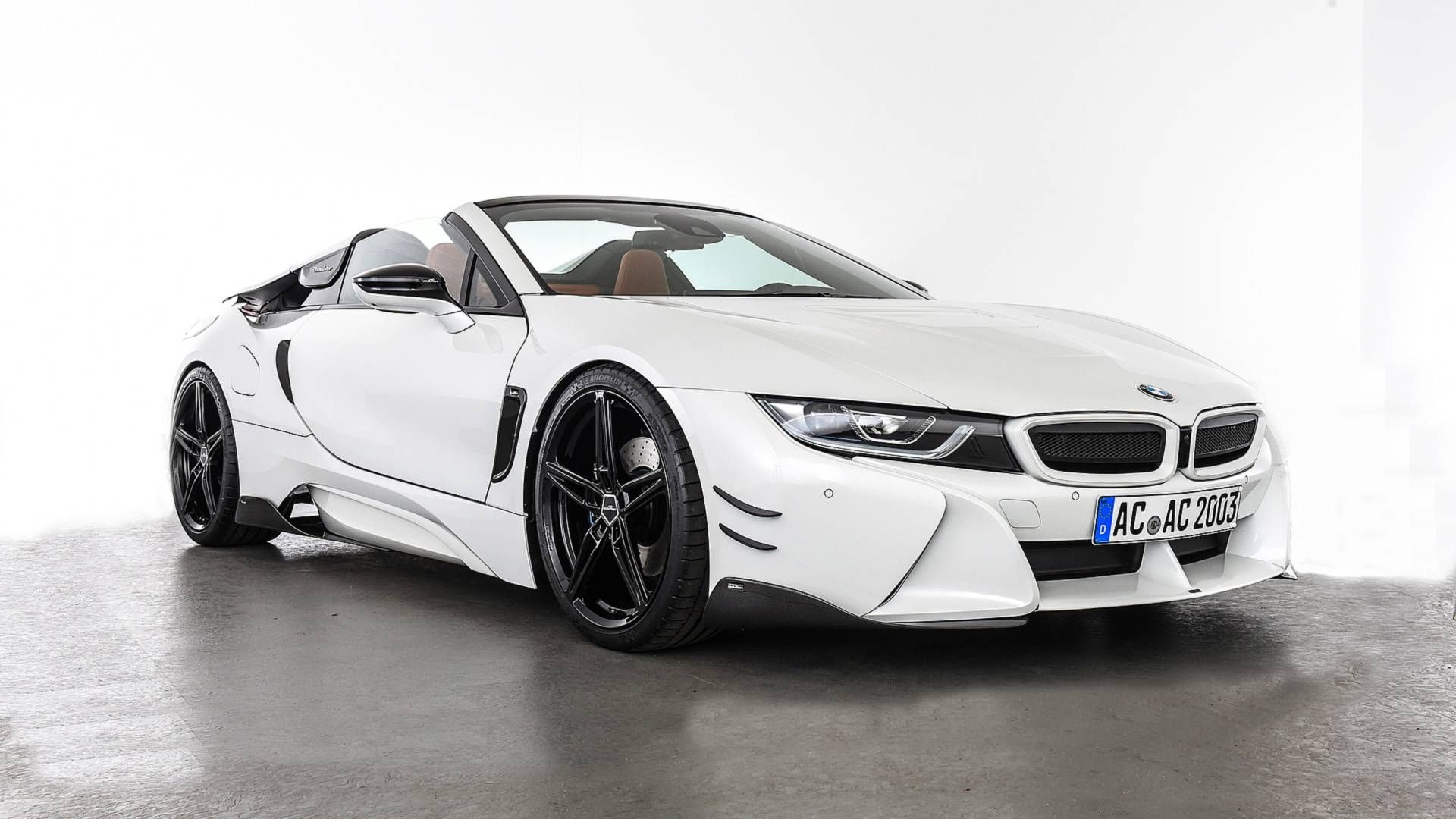 Ac Schnitzer Bmw I8 Roadster Looks More Aggressive Luxury Cars