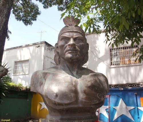 El Cacique Baruta Hijo Del Gran Cacique Guaicaipuro Y De Urquia