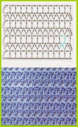 Mes Favoris Tricot Crochet 150 Points Au Crochet Puntos Crochet Patrones Patrones Crochet Gratis Crochet Patrones