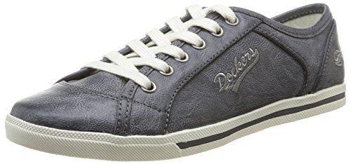 27CH221-620100, Chaussures de sports extérieurs femme - Gris (Schwarz 100), 39 EUDockers by Gerli